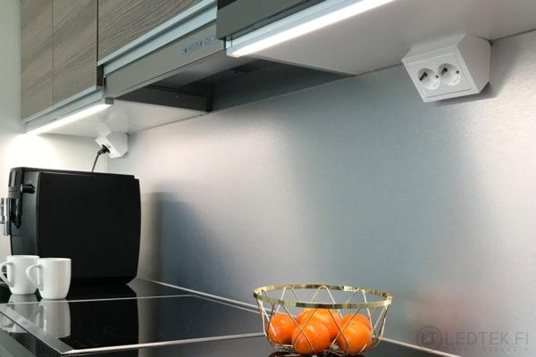 CRI90 LED-nauha 4000-4300K 16W 12V