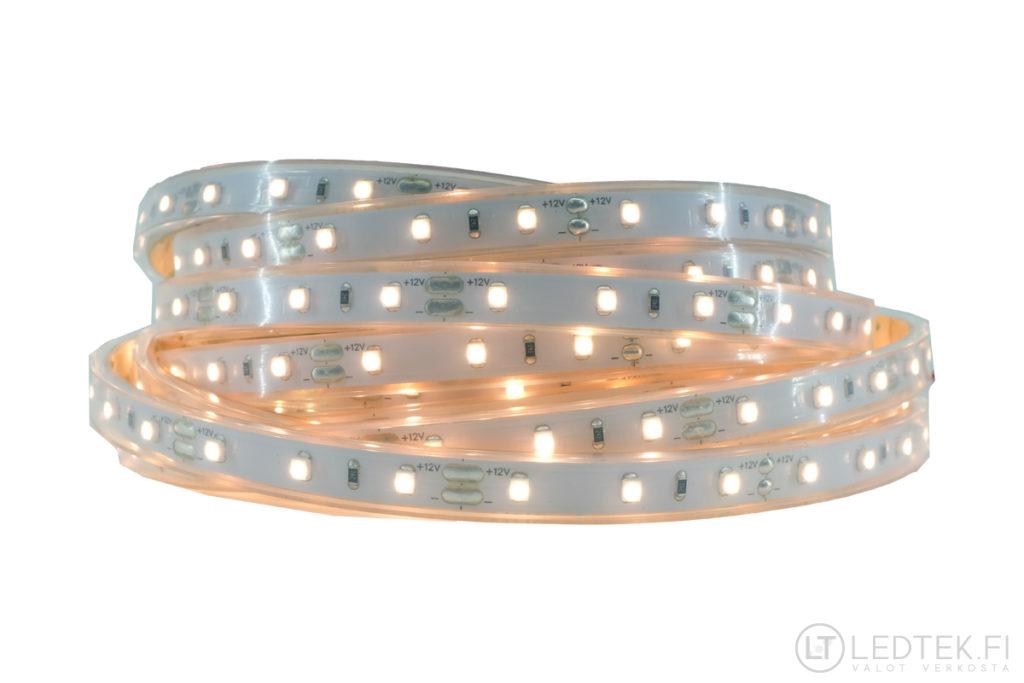 CRI90 LED-nauha silikoniputkessa 3500K 4.8W