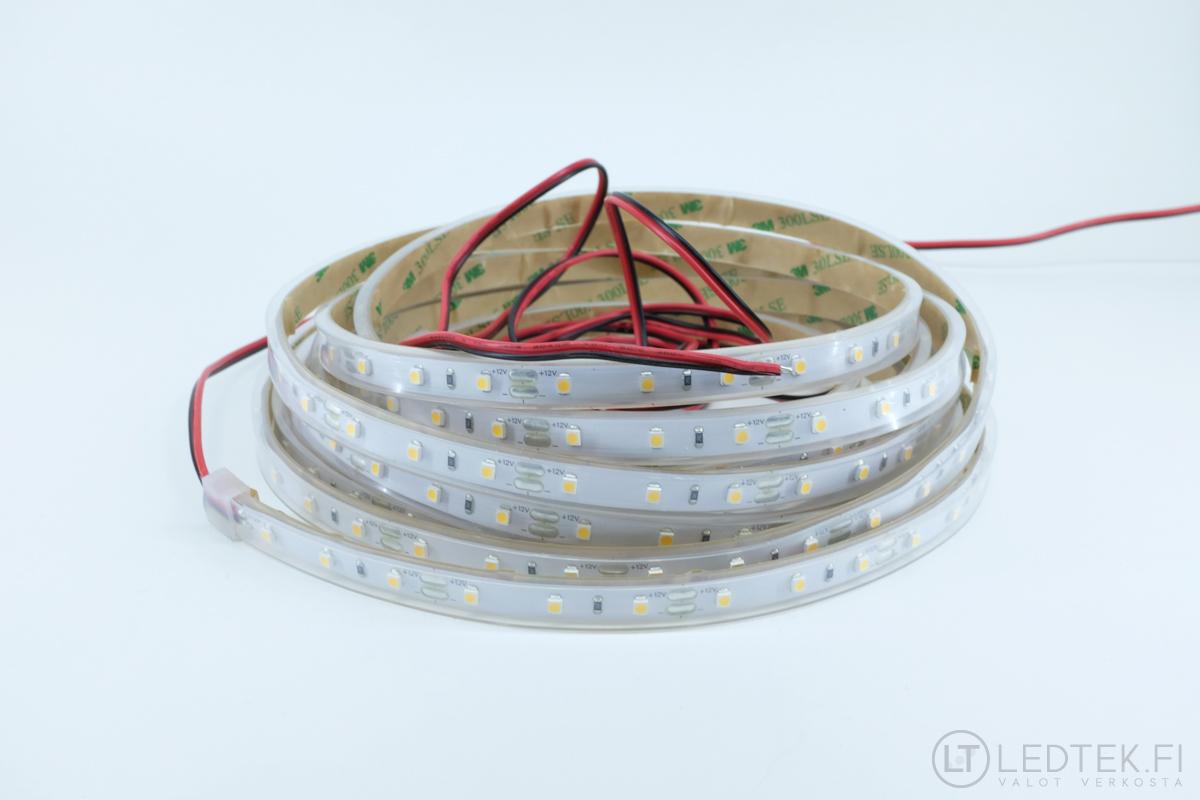 CRI90 LED-nauha silikoniputkessa 4000K 4.8W