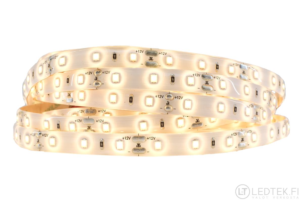 CRI90 LED-nauha 3000-3300K 14.4W IP54 12V