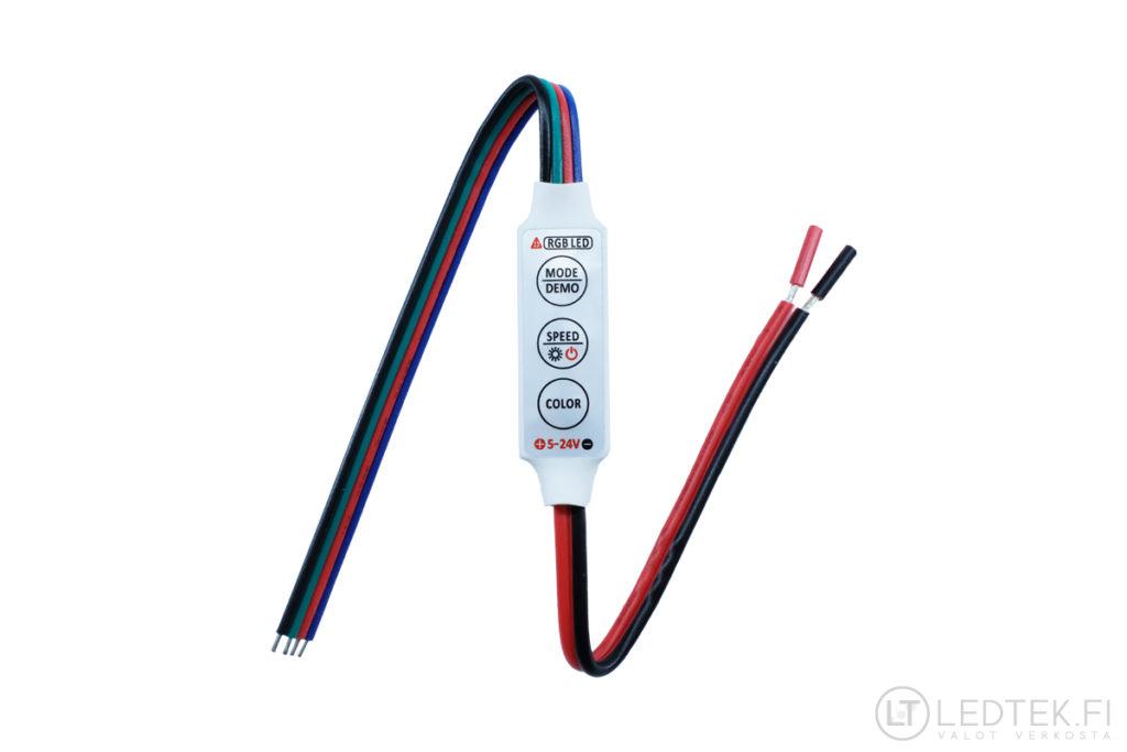 RGB LED-nauhan ohjain 5-24V