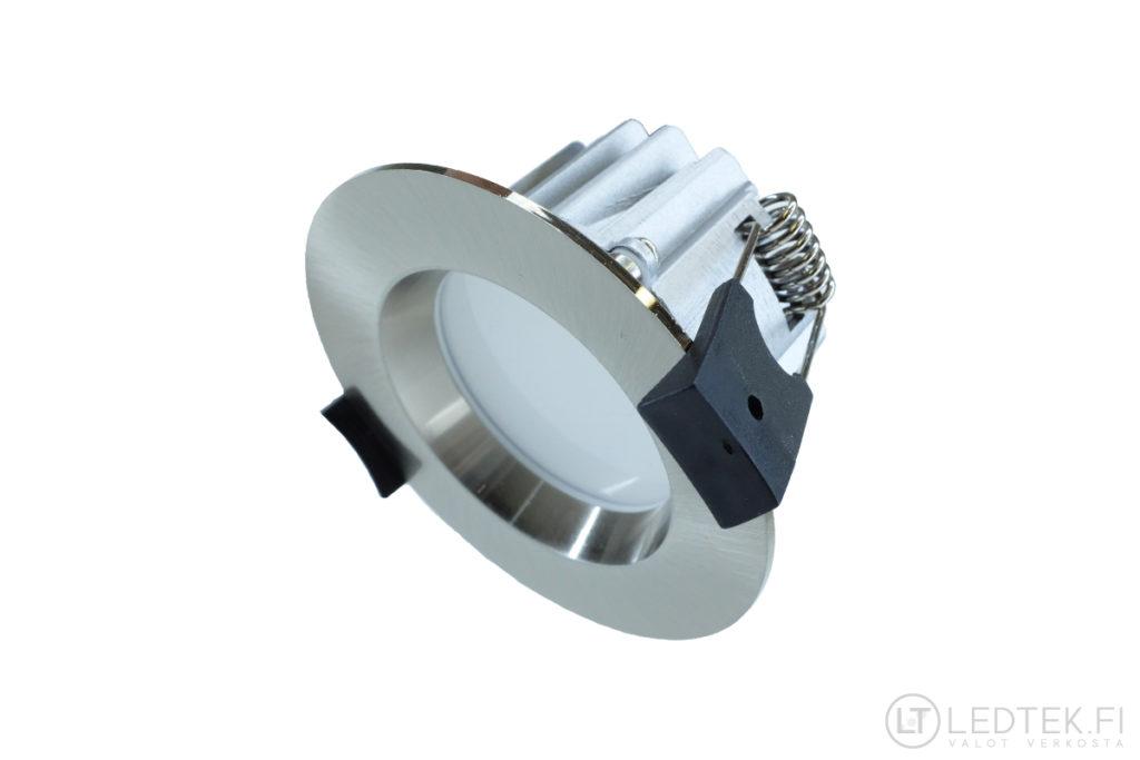 CRI90 LED-alasvalo 7W 4K himmennettävä teräs