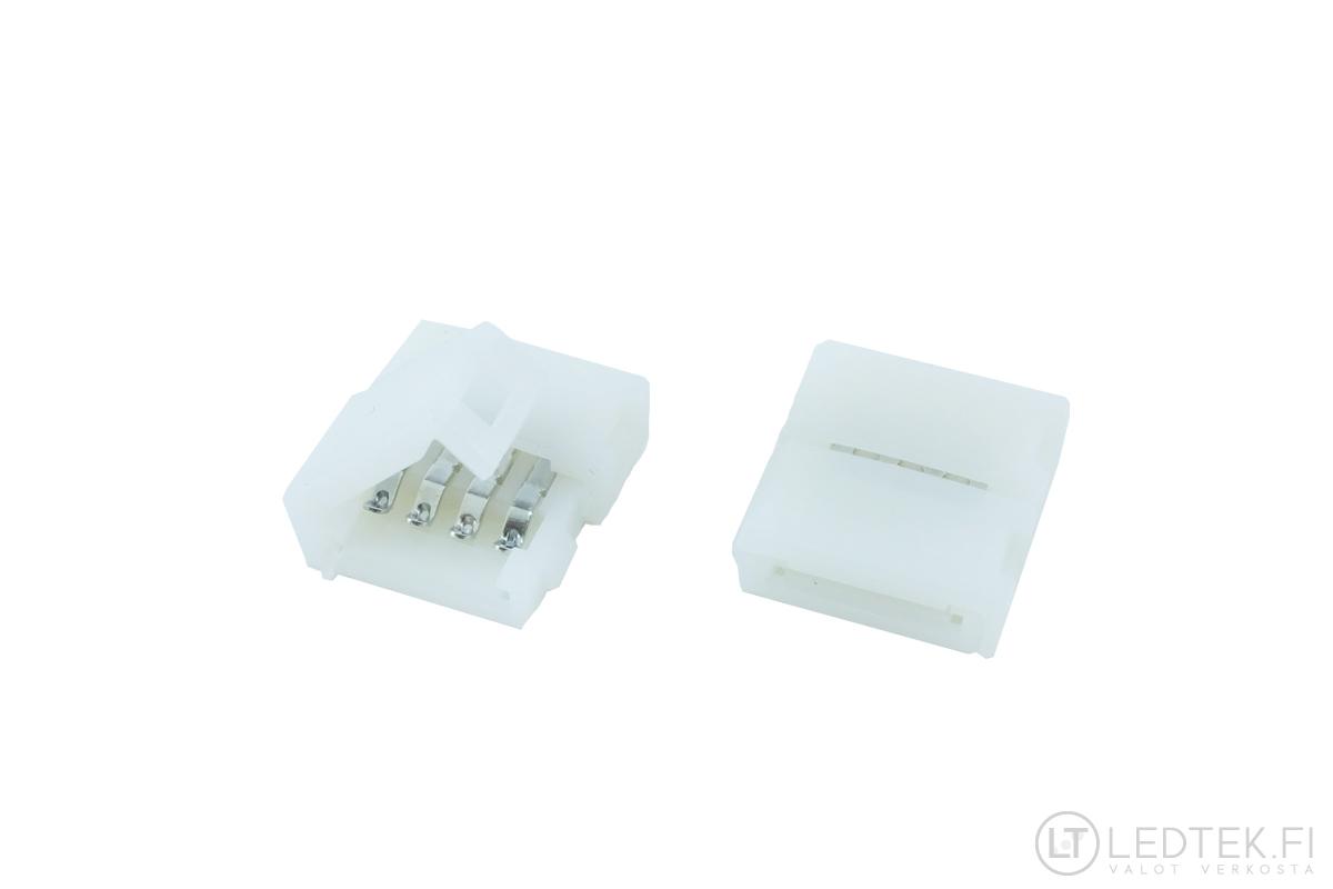 LED-nauhaliitin FTLight Pro, 10mm, IP65, nauha/johto, 5kpl/pss