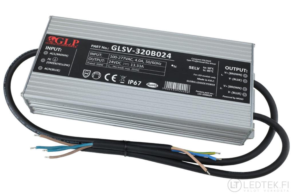 GLP LED-muuntaja 320W 24V