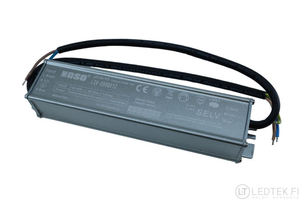 GLP Moso LED-muuntaja 50W 12V