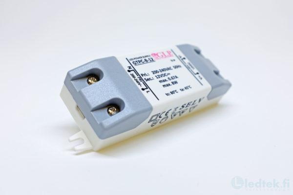 GLP LED-muuntaja 8W 12V