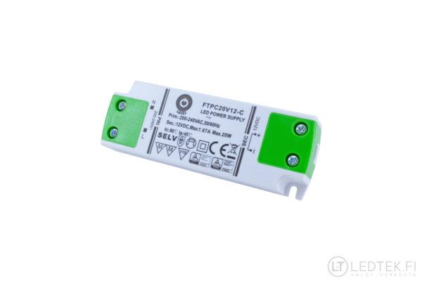 POS LED-muuntaja 20W 12V