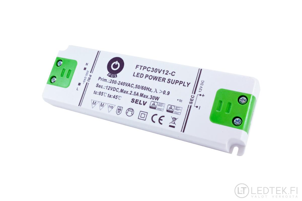 LED-muuntajien vertailu