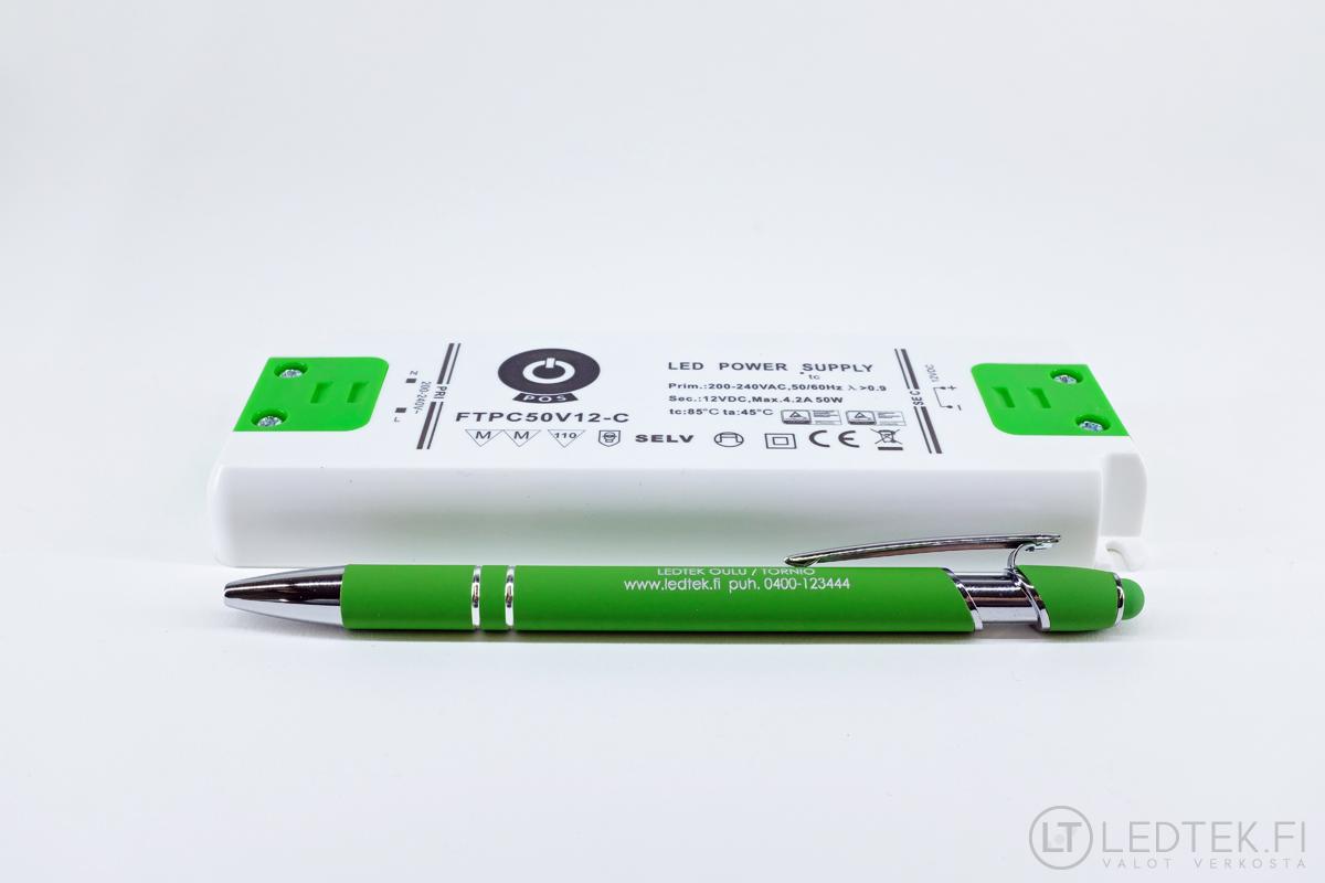 POS LED-muuntaja 50W 12V