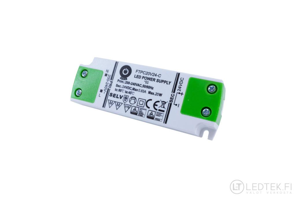 POS LED-muuntaja 20W 24V