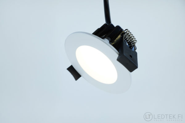 CRI80 LED-alasvalo 5W 4K himmennettävä 12V