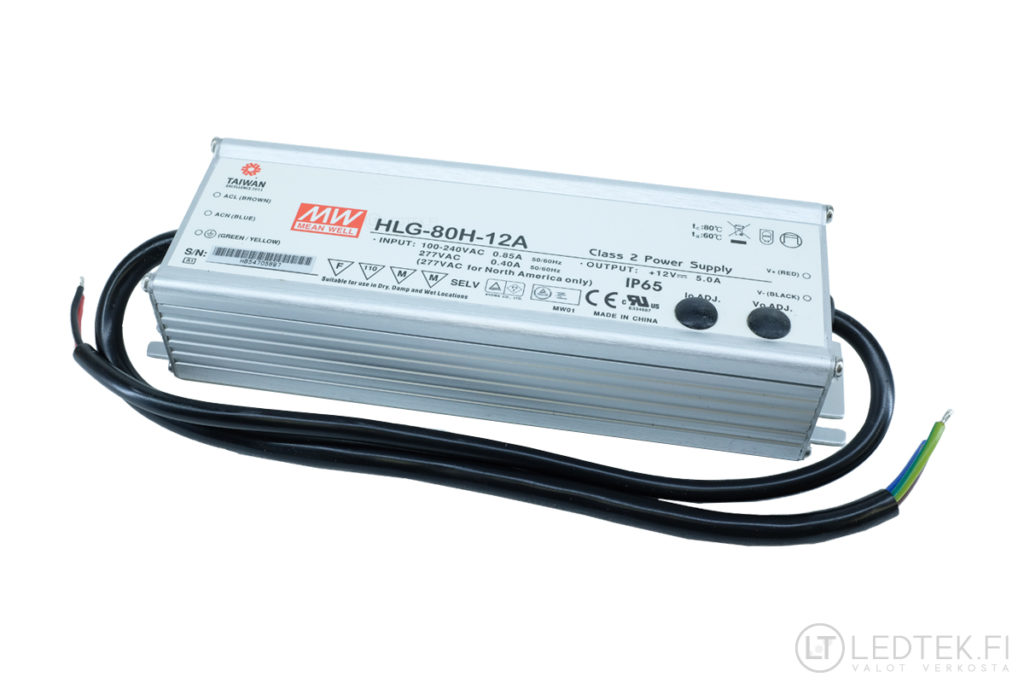 Mean Well LED-muuntaja 60W 12V
