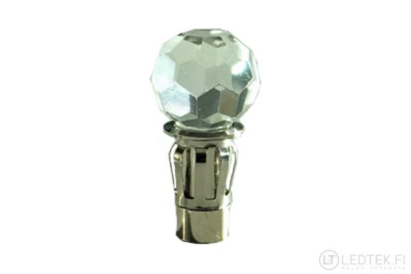 LED-tähtitaivas kristalli