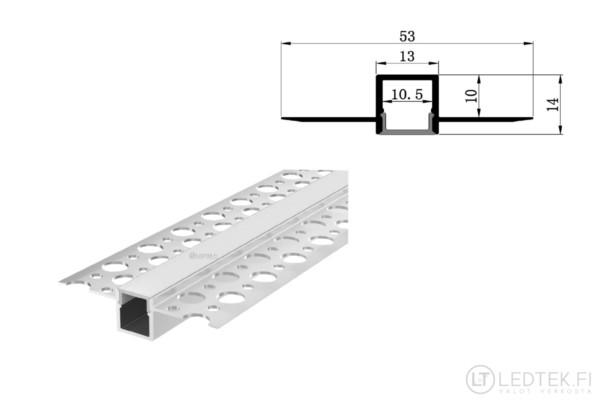 LED-profiili kipsilevy